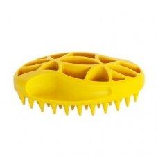 Chadog Rubber Brush 7x11cm - guminis šepetys trumpaplaukiams