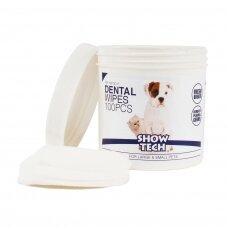 Show Tech dantų valymo servetėlės, 100vnt.